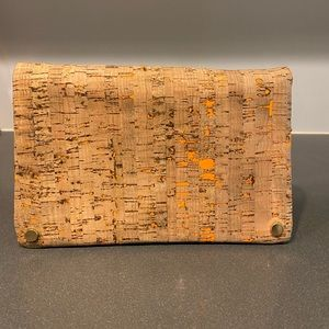 Street level Cork clutch bag